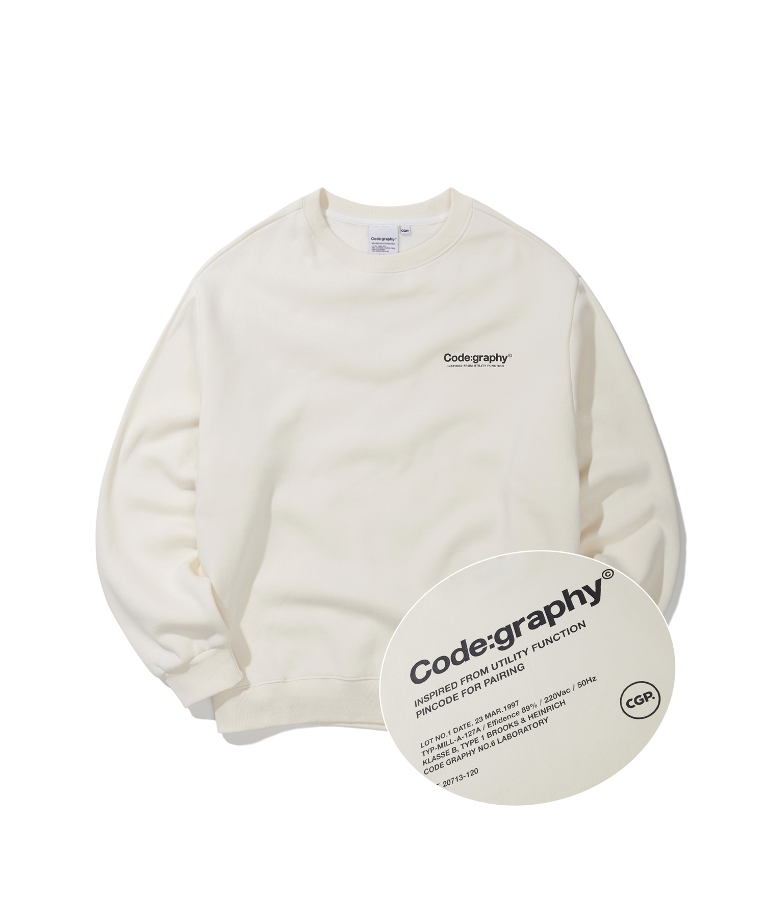 REFERENCE LOGO CREWNECK - CR